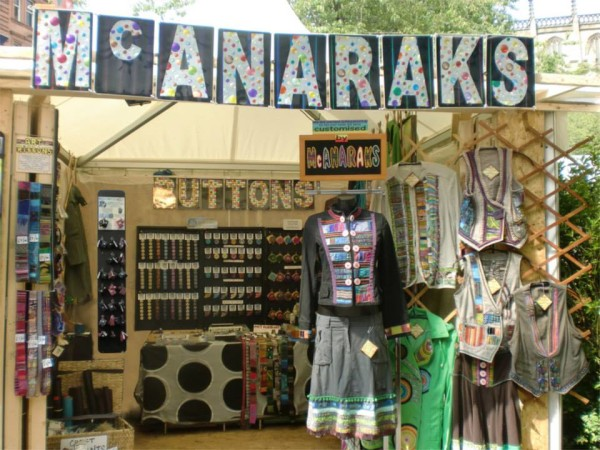 McAnaraks stall at West End craft fair