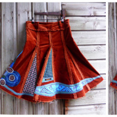 customised skirt by McAnaraks