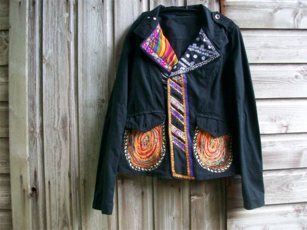 customised jacket by McAnaraks
