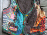 customised waistcoat by McAnaraks