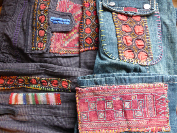 customised jeans