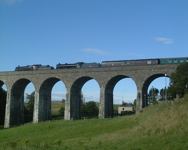 Our home and workshop under Tomatin Viaduct