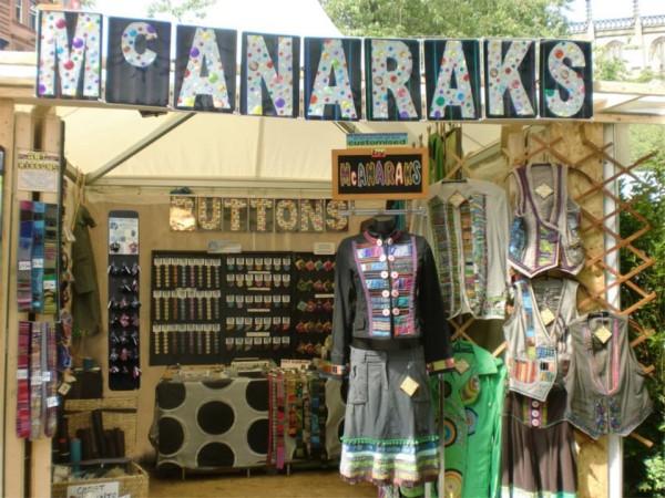 McAnaraks stall at West End craft fair
